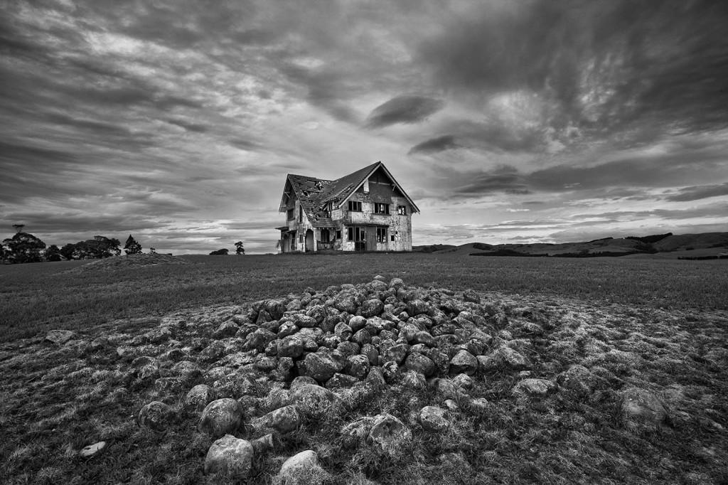 Grant Sheehan Abandoned House On A Hill Wairarapa