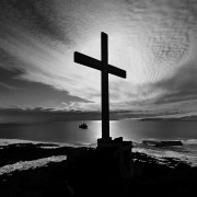 Memorial Cross, Cape Evans, Antarctica
