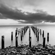 Thames Wharf Ruin